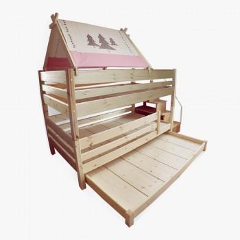 앤비 3층 계단 침대