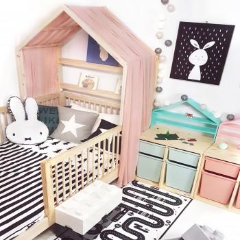 하프 하우스 침대