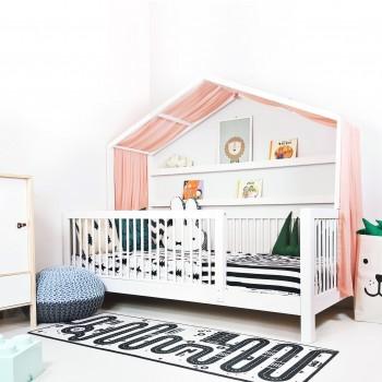 화이트 쁘띠 하우스 침대